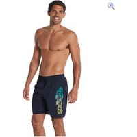 Speedo Mens BV Graphic 18 Watershorts - Size: XXL - Colour: Navy