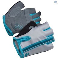 Polaris Vela Ladies Cycle Mitts - Size: XS - Colour: WHITE-BLUE