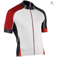 Northwave Mamba SS Jersey - Size: M - Colour: WHITE-RED-BLK