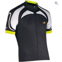 Northwave Logo SS Jersey - Size: XL - Colour: Black / Yellow