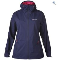 Berghaus Womens Stormcloud Waterproof Jacket - Size: 12 - Colour: EVENING BLUE