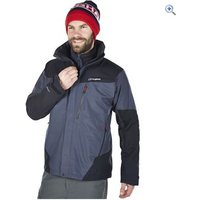 Berghaus Mens Arran Waterproof Jacket - Size: XXL - Colour: CARBON-BLACK