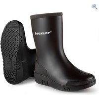 Dunlop Kids Mini Wellington Boots - Size: 23 - Colour: Black