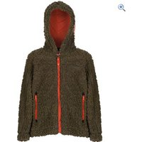 Regatta High Roller Kids Fleece Hoodie - Size: 3-4 - Colour: IVY GREEN