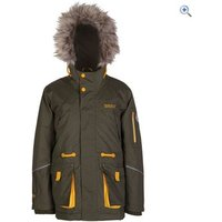 Regatta Kongo Kids Waterproof Insulated Jacket - Size: 3-4 - Colour: IVY GREEN