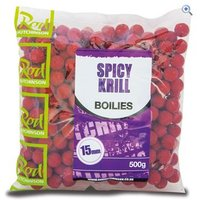 Rod Hutchinson Spicy Krill Boilies 15mm (500g)