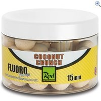 Rod Hutchinson Fluoro Pop Ups 15mm, Coconut Crunch