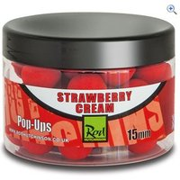 Rod Hutchinson Pop Ups 15mm, Strawberry Cream