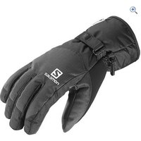 Salomon Mens Force Dry Gloves - Size: S - Colour: Black
