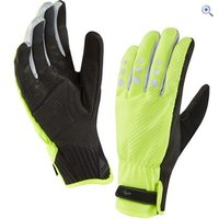 SealSkinz All Weather Cycle XP Gloves - Size: L - Colour: FLURO YELLOW