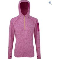 Ronhill Womens Momentum Victory Hoodie - Size: 12 - Colour: MAGEN-FLUO YELL