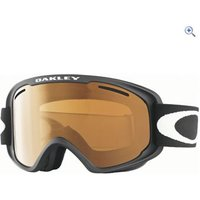 Oakley O2 XM Goggles (Matte Black/Persimmon) - Colour: Matte Black