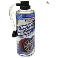 Streetwize All-In-One Tyre Puncture Repair, Sealant and Inflator