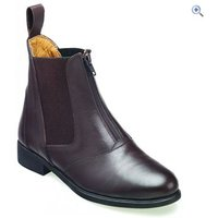 Harry Hall Hartford Zip Ladies Jodhpur Boots - Size: 8 - Colour: Brown