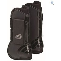 Masta Deluxe Open Tendon Boot - Size: PONY - Colour: Black
