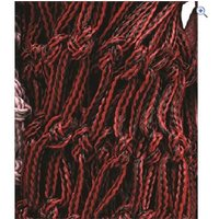 Cottage Craft Large Haylage Net - Colour: Black / Red