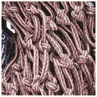 Cottage Craft Large Haylage Net - Colour: Grey Pink