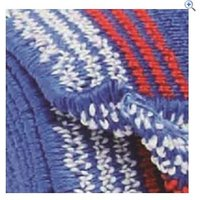 Cottage Craft Tail Bandage - Colour: Blue Stripe