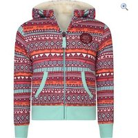 Animal Happie Daze Full Zip Kids Hoody (Sizes 2-6) - Size: 5-6 - Colour: MINTY BLUE
