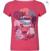 Animal Betsy Bus Kids Tee (Sizes 2-6) - Size: 2 - Colour: RASPBERRY PINK