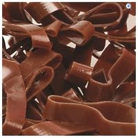 Cottage Craft Magic Plaiting Bands (500) - Colour: Brown