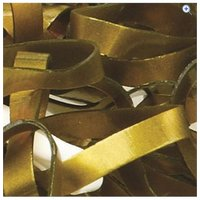 Cottage Craft Magic Plaiting Bands (500) - Colour: Gold