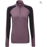 Noble Outfitters Lauren Womens 1/4 Zip Mock - Size: XS - Colour: Deep Red
