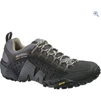 Merrell Intercept Mens Shoes - Size: 9 - Colour: SMOOTH BLACK
