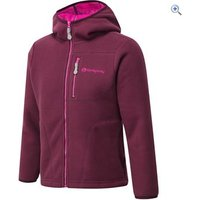 Sprayway Beatrix Girls Fleece Hoody - Size: 4-5 - Colour: Fig