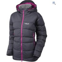 Rab Womens Ascent Jacket - Size: 12 - Colour: Grey And Black