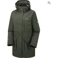Craghoppers Madigan Long Womens Waterproof Jacket - Size: 8 - Colour: MID KHAKI