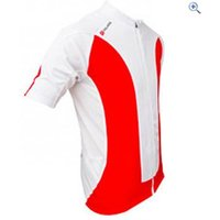 Polaris Mini Strike Kids Cycling Jersey - Size: M - Colour: RED-WHITE