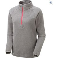 North Ridge Wallula Womens Slim-Fit Fleece Pullover - Size: 20 - Colour: Grey Pink