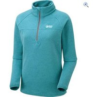 North Ridge Wallula Womens Slim-Fit Fleece Pullover - Size: 22 - Colour: Turquoise