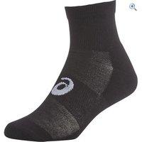 Asics Quarter Socks (3 Pair Pack) - Size: S - Colour: Black