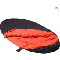 Hi Gear The Beast Extra Large Sleeping Pod Sleeping Bag - Colour: Black / Red