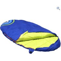 Hi Gear Boom Kids Sleeping Pod Sleeping Bag - Colour: Blue Green
