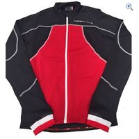 Northwave Sonic Long Sleeve Jersey - Size: XL - Colour: Red And Black