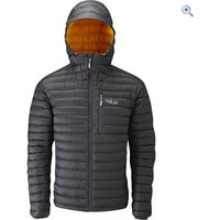 Rab Microlight Alpine Mens Jacket - Size: XL - Colour: Grey-Orange