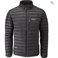 Rab Mens Microlight Jacket - Size: L - Colour: Black
