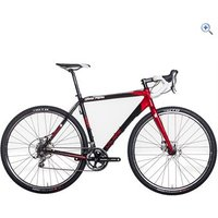 Calibre Dark Peak Adventure Bike - Size: 50 - Colour: Black / Red
