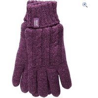 Heat Holders Ladies Thermal Gloves - Size: M-L - Colour: Purple