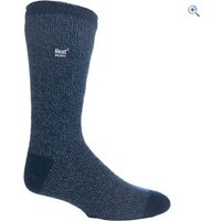 Heat Holders Mens Twist Socks - Colour: Indigo