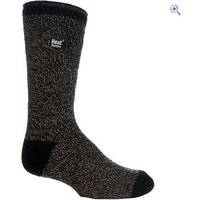 Heat Holders Mens Twist Socks - Colour: Black