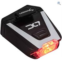Moon LX70 Rear Bike Light - Colour: Black