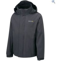 Regatta Luca II 3-in-1 Childrens Waterproof Jacket - Size: 5-6 - Colour: Grey Black
