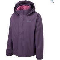 Regatta Luca II 3-in-1 Childrens Waterproof Jacket - Size: 34 - Colour: PLUM WINE