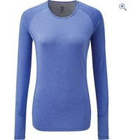 Noble Outfitters Hailey Womens Long Sleeve Crew - Size: S - Colour: PERIWINKLE