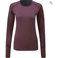 Noble Outfitters Hailey Womens Long Sleeve Crew - Size: XS - Colour: Deep Red