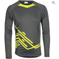 Polaris M.I.A. Trail Jersey - Size: S - Colour: CHARCOAL-LIME